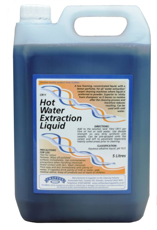 Craftex Hot Water Extraction Liquid 5litre (0011)