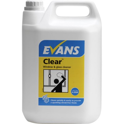 EVANS Clear - 2 x 5Ltrs