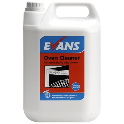 EVANS Oven Cleaner - 2 x 5 Litres