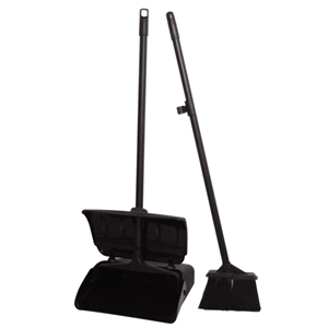 Lobby Dustpan & Broom