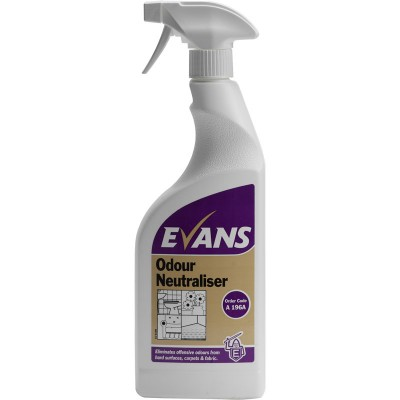 EVANS Odour Neutraliser - 6 x 750ml