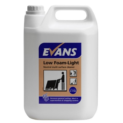EVANS Low Foam Light- 2 x 5 Litres