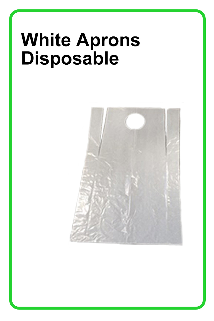 POLYTHENE DISPOSABLE APRONS