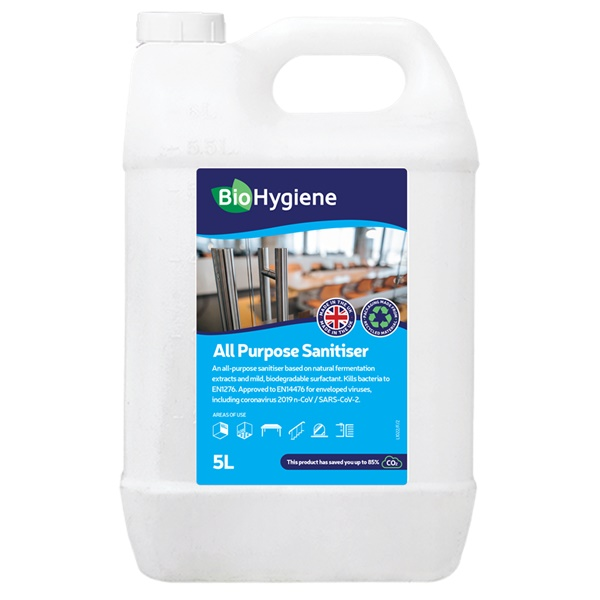 BIO HYGIENE : All Purpose Sanitiser 2x5 Ltr