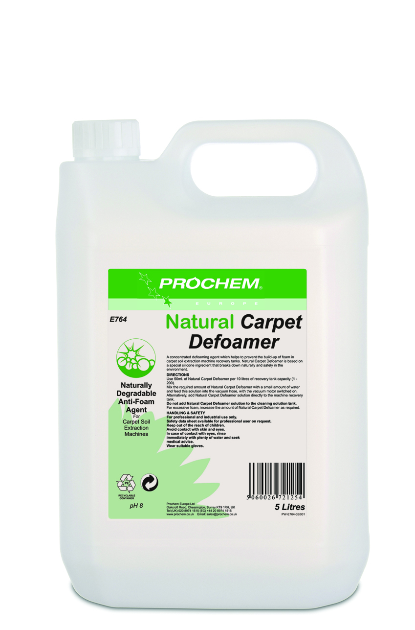 Natural Carpet  Defoamer 1 x 5 Ltr