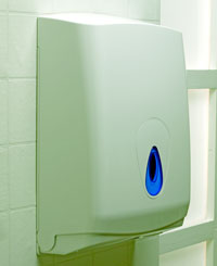 C-FOLD or MULTIFOLD Hand Towel Dispenser