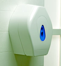 MIDI-JUMBO TOILET ROLL HOLDER 10""