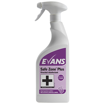 EVANS Safe Zone Plus - 6 x 750ml