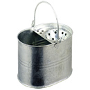 13Ltr Galvanised Bucket and Wringer