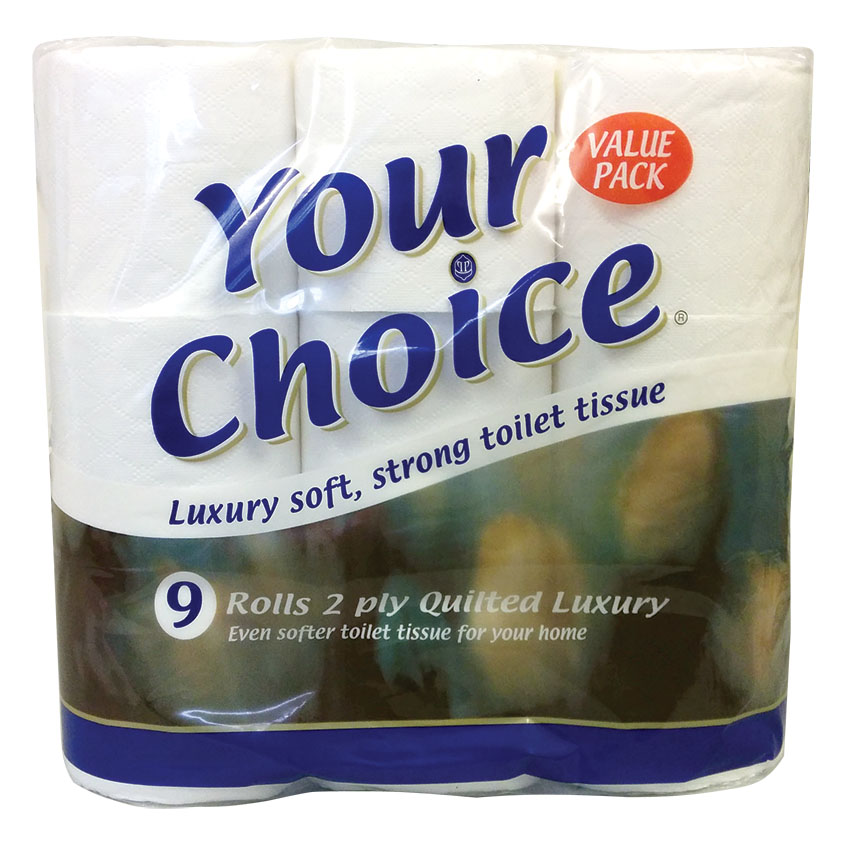 Your Choice : Toilet Tissue VALUE PACK