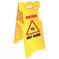 Lightweight Corex Safety Sign