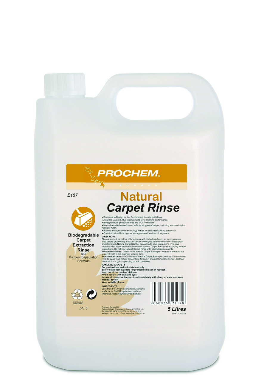 PROCHEM Natural Carpet Rinse 5L